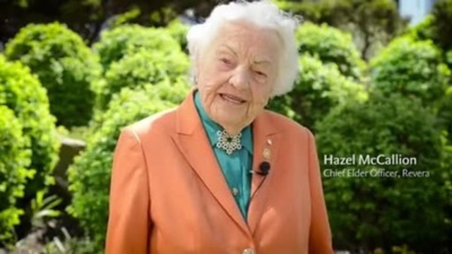 "Video: ""Ageism is getting old!"" says Hazel McCallion, former Mayor of the City of Mississauga, now Chief Elder Officer at Revera and Chancellor of Sheridan College. Watch Hazel and other older adults share their thoughts on ageism, independence and choice in this video."