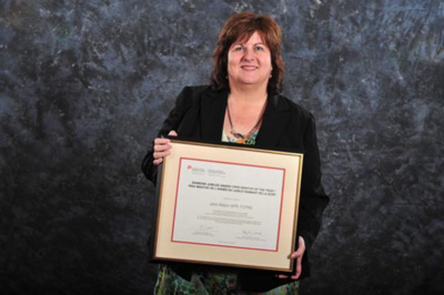 Jane Allison, ARP, FSCRP (Groupe CNW/Société canadienne des relations publiques)