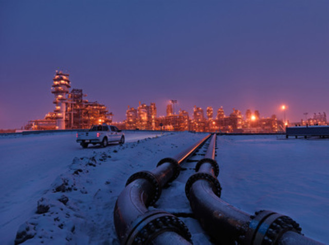The Kearl oil sands plant, located approximately 75 km northeast of Fort McMurray. (CNW Group/Imperial Oil Limited)