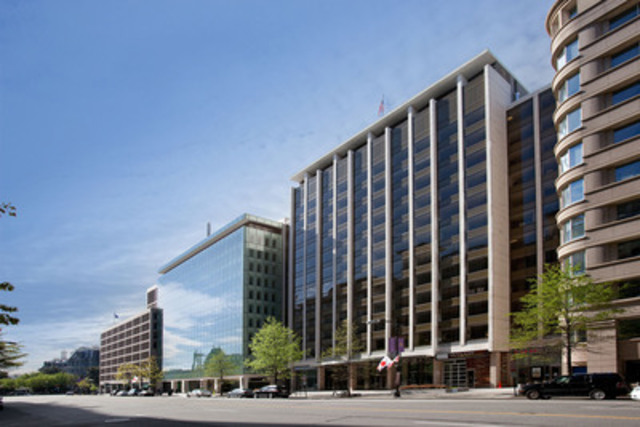 John Hancock acquiert la propriété du 1750 Pennsylvania Avenue NW, à Washington D.C (Groupe CNW/Société Financière Manuvie)