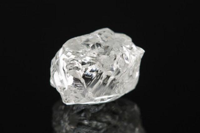 Kennady Diamonds 2016 bulk sample diamond. (CNW Group/Kennady Diamonds Inc.)