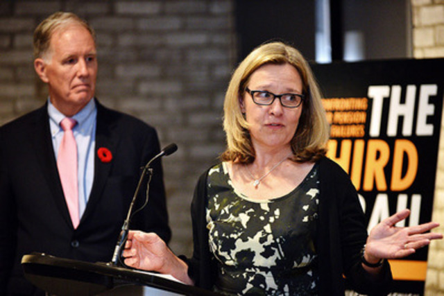 Jacquie McNish explains why it's time to stop the blame game and deliver real solutions to Canada's pension problems. (CNW Group/Fleishman-Hillard Inc. - Toronto)