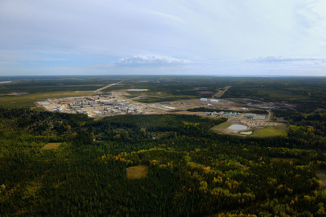 Cenovus Energy's Christina Lake oil sands operation where production capacity is now 138,000 barrels per day. (CNW Group/Cenovus Energy Inc.)