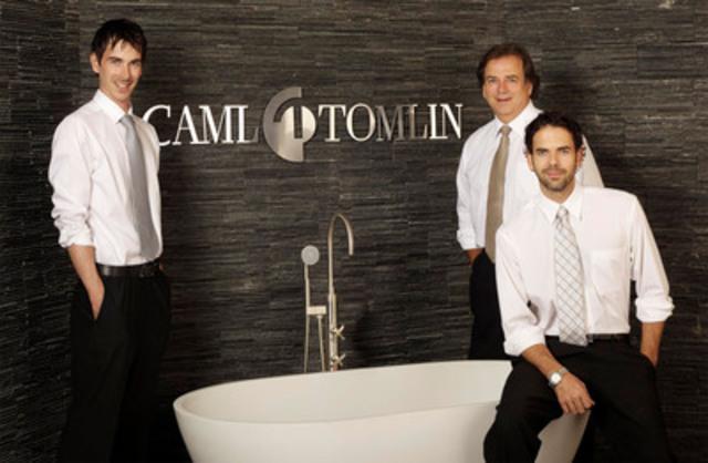 Max Cloutier - Vice-président, Produits et Services, Jean-Louis Cloutier - Président, Jonathan Cloutier - Vice-président, Ventes et Marketing (Groupe CNW/CAML-TOMLIN)