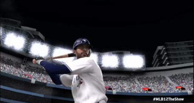 2011 Major League Baseball® (MLB®) Home Run Champion Jose Bautista