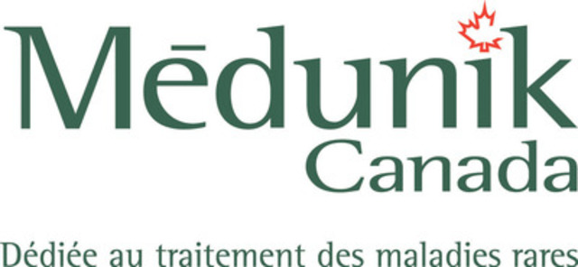 Médunik Canada - Dédiée au traitement des maladies rares (Groupe CNW/Medunik Inc.)