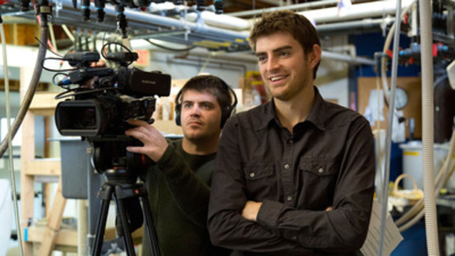 Tyler (Left) and Alex Mifflin of TVO's The Water Brothers. Series three premieres April 7 at 7 pm. (CNW Group/TVO)