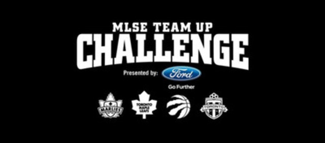 MLSE Team Up Challenge (CNW Group/Maple Leaf Sports & Entertainment Ltd.)
