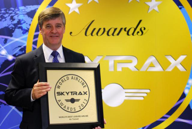 John Hetherington, directeur aéroports - Europe, Air Transat (Groupe CNW/TRANSAT A.T. INC.)