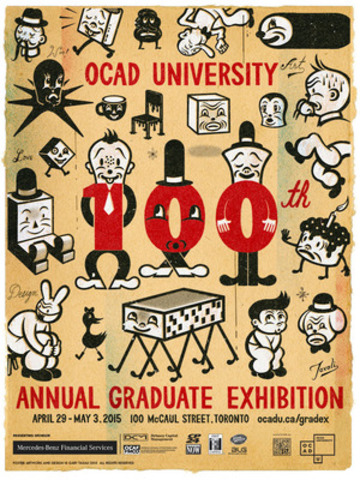 OCAD University celebrates a century of GradEx (CNW Group/OCAD University)