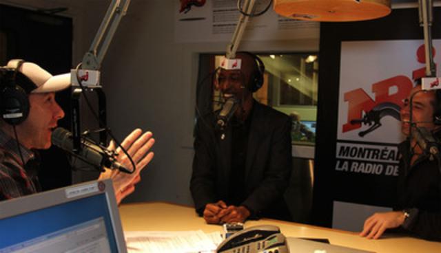 Michel Mpambara, porte-parole de la Journée Bell Cause pour la cause (Groupe CNW/BELL CANADA)