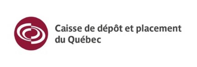 Logo : Caisse de dépôt et placement du Québec (Groupe CNW/Caisse de dépôt et placement du Québec)
