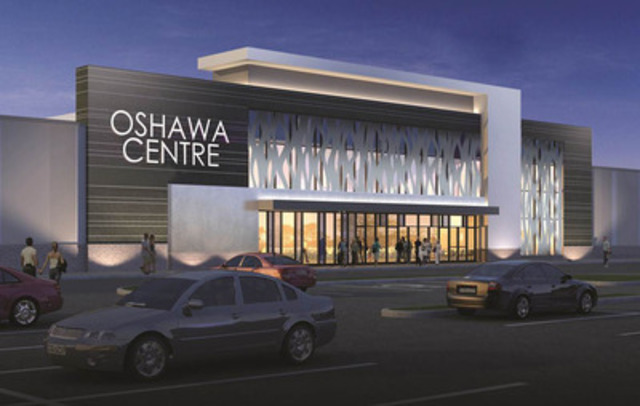 Ivanhoé Cambridge announced today a $230-million redevelopment and expansion project at Oshawa Centre (CNW  ...