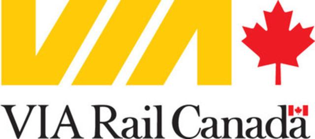VIA Rail Canada Inc. (Groupe CNW/Location d'autos et de camions Discount)