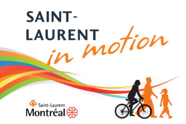 "With the objective of spotlighting its territory, the Borough of Saint-Laurent begun the first phase of its project ""Saint-Laurent in Motion'' by inviting Quebec creators to participate in a competition by producing a video projection to be screened on the église Saint-Laurent, every evening, from mid-June to mid-September, 2013. (CNW Group/VILLE DE MONTREAL - ARRONDISSEMENT DE SAINT-LAURENT)"