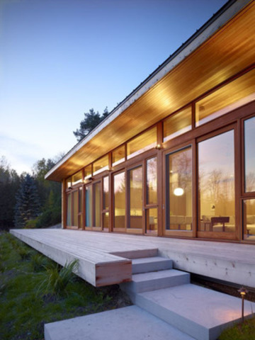 Residential Wood Design Award Winner: +HOUSE, Mulmur; Architect: superkül (CNW Group/Ontario Wood WORKS!)