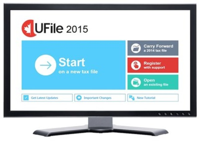 UFile redesign offers virtual accountant experience (CNW Group/UFile)