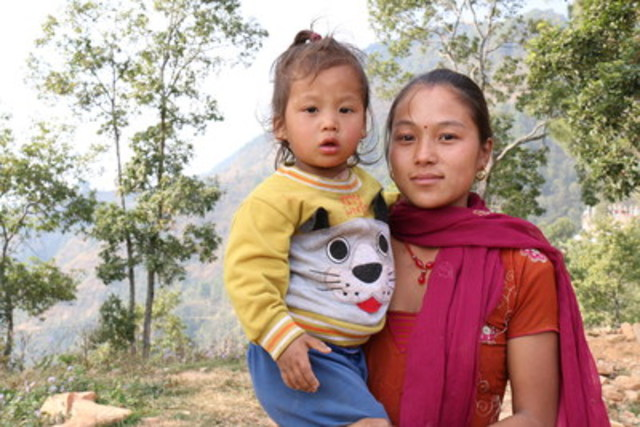 Shelter remains the critical issue in Nepal, as too many families are still exposed to harsh living conditions. The past winter was difficult for Sunita and her two year old son who live in a high altitude area. According to World Vision, full recovery from an earthquake of this scale can take 10 to 15 years. (Photo credit: World Vision) (CNW Group/World Vision Canada)