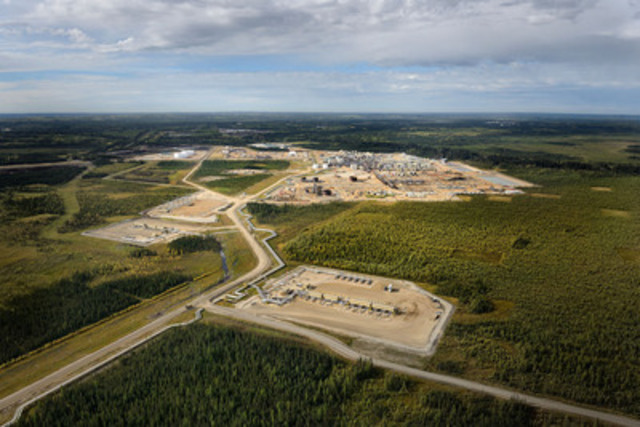 Cenovus's Christina Lake project in northern Alberta uses steam-assisted gravity drainage (SAGD) to produce oil. The process involves drilling into the reservoir and injecting steam at a low pressure to soften the oil so it can be pumped to the surface. (CNW Group/Cenovus Energy Inc.)