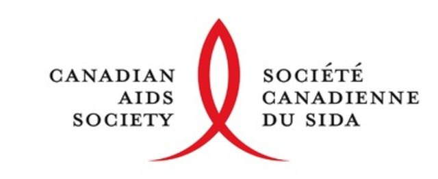 Logo: Canadian AIDS Society (CNW Group/CANADIAN AIDS SOCIETY)