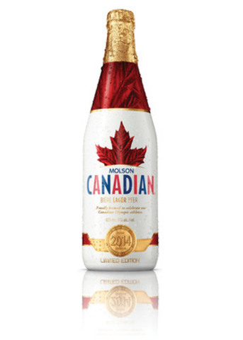 In the spirit of celebrating together, Molson Canadian is making Victory Bottles available to Canadians for the first time. (CNW Group/MOLSON CANADIAN)