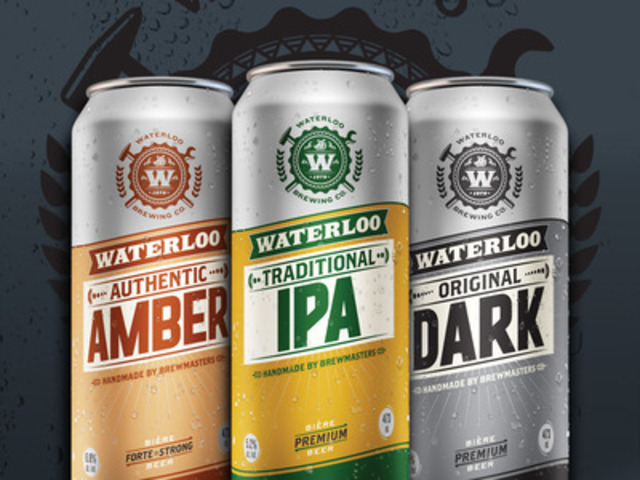 Waterloo Brewing Co. (CNW Group/Brick Brewing Co. Limited)