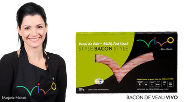 Bacon de veau VIVO ! Le bacon réinventé sur les tablettes des supermarchés… (Groupe CNW/Vivo)