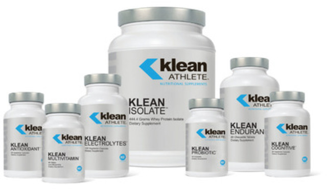New line of Klean Athlete™ products now available in Canada. (CNW Group/ATRIUM INNOVATIONS INC.)