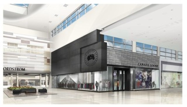 Announced today, Canada Goose unveils first flagship retail locations set to open Fall 2016 - pictured above - Yorkdale Shopping Centre, Toronto, Ontario (CNW Group/Canada Goose)