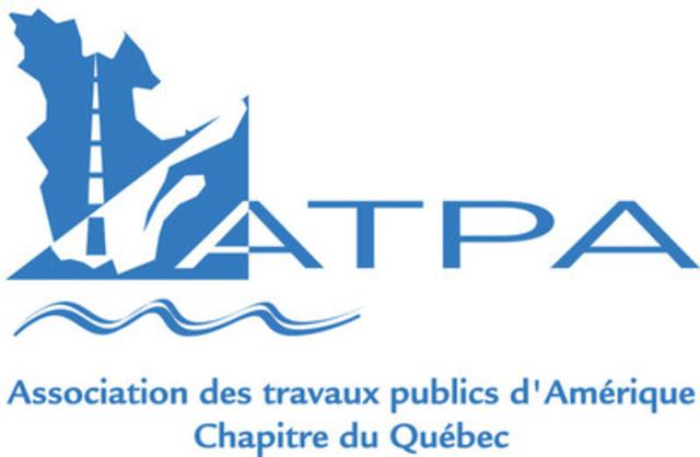 Association des travaux publics d'Amérique - chapitre du Québec (Groupe CNW/Association des travaux publics d'Amérique - chapitre du Québec)