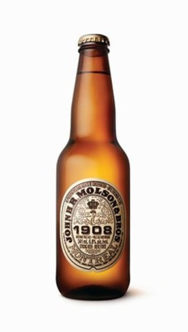 La pale ale historique John H.R. Molson & Bros. 1908 est vendue en bouteilles de 625 et 341 ml chez tous les bons détaillants. (Groupe CNW/Molson Coors Canada)