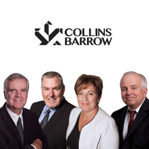 Left to right: Andrew (Andy) Smart, Edward (Ted) L. Smith, Sara B. Detweiler, and Dennis Zinger (CNW Group/Collins Barrow National Cooperative Incorporated)