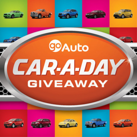 Once Again, Go Auto is Giving Away 30 Cars to 30 Customers (CNW Group/Go Auto)