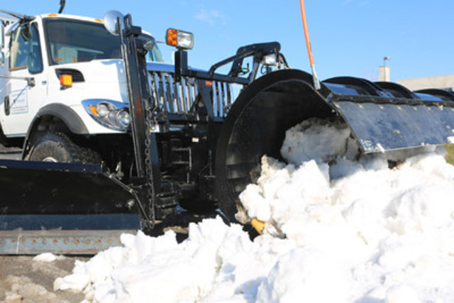As part of Vaughan's new winter road maintenance contract, the City is getting 50 new snowplow/salter combo units, 45 windrow machines, eight cul-de-sac clearing machines and four anti-icing units (CNW Group/City of Vaughan)