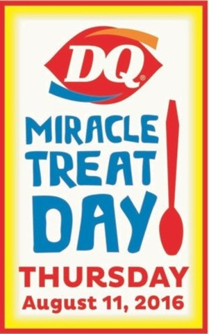 Miracle Treat Day 2016 (CNW Group/Dairy Queen Canada)