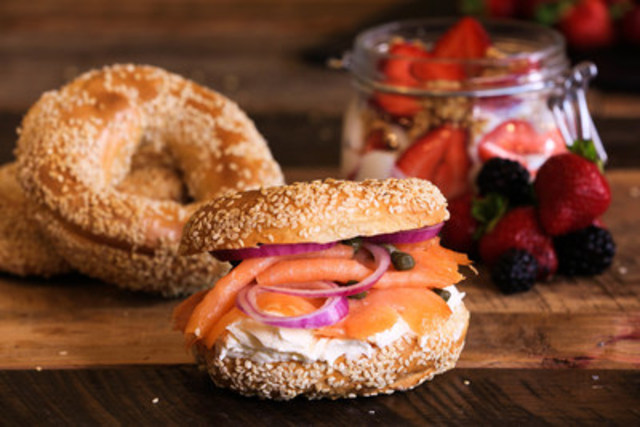 The bagel Lox. (CNW Group/Ben & Florentine Restaurants Inc.)