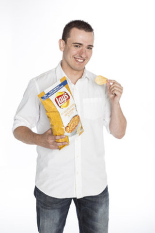 Jordan Cairns of Burlington, ON created P.E.I. Scalloped Potatoes, winner in the Lay's® Canada Do Us a Flavour Tastes of Canada™ contest (CNW Group/PepsiCo Canada)