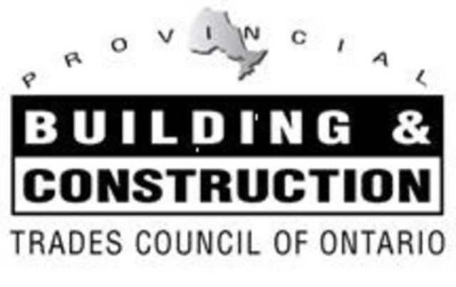 The Provincial Building & Construction Trades Council of Ontario (CNW Group/The Provincial Building & Construction Trades Council of Ontario)