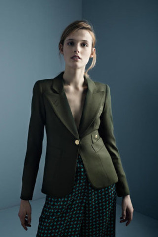 The Duchess Blazer in Army (CNW Group/Smythe)