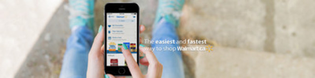 The new Walmart shopping app will help customers browse and check out efficiently, saving customers both time and money. The app is available for iPhone and Android. (CNW Group/Walmart Canada)