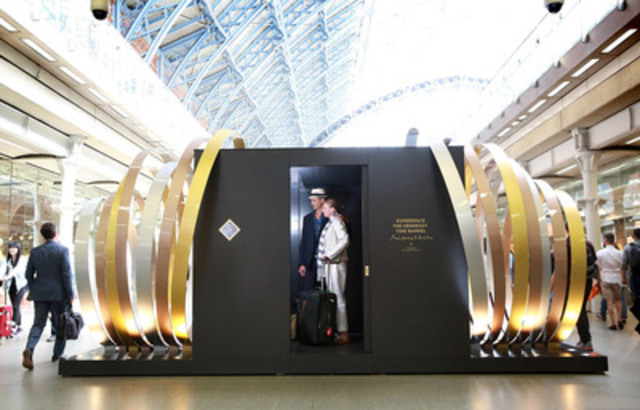 Cette capsule du 21e siècle préservera les messages enregistrés en 2015 , de tous les coins du monde , dans un tonneau situé dans les caves historiques de Hennessy à Cognac; pour être ensuite ouvert dans 50 ans. (Groupe CNW/Hennessy)