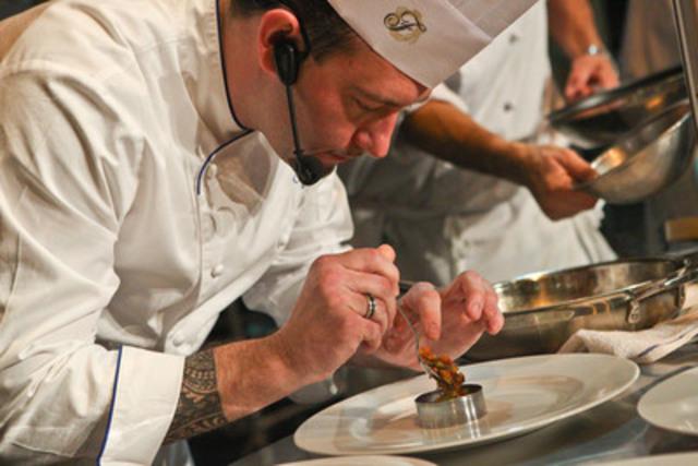 Collin Thornton, Executive Chef, Fairmont Royal York Hotel, Toronto,and 2013 Royal Chef Challenge Champion (CNW Group/Royal Agricultural Winter Fair)