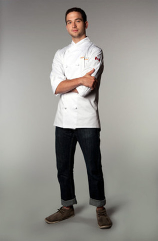 Toronto's Chef Carl Heinrich is declared the winner of Top Chef Canada in the second season finale that aired Monday, June 4th on Food Network Canada. (CNW Group/Food Network)