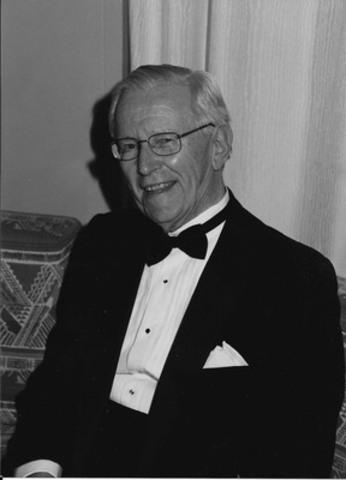 Joseph A. P. Clark, président fondateur et chef de la direction de Canada Newswire et professionnel réputé des relations publiques au Canada (Groupe CNW/Groupe CNW Ltée)