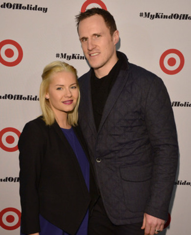 On December 10th, professional hockey player Dion Phaneuf and wife, actress Elisha Cuthbert, visited the Target at Shoppers World Danforth in Toronto to sign autographs for local hockey fans and shop the store in preparation for the holidays. (Photo Credit: George Pimental) (CNW Group/Target Canada)