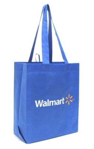 25 cent reusable bag. (CNW Group/Walmart Canada)