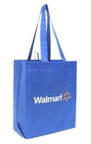 25 cent reusable bag. (CNW Group/Walmart Canada)