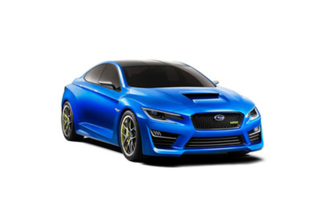 The Subaru WRX Concept, shown at the NYIAS (CNW Group/Subaru Canada Inc.)