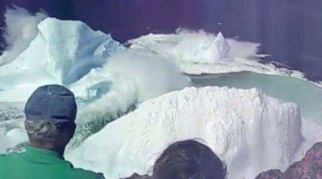 Vidéo : Des vidéos amateurs filmées par les voyageurs eux mêmes, présentant notamment l'affaissement d'un iceberg au large de Terre Neuve, passeront dans certains cinémas d'Australie pour inciter les voyageurs à venir en vacances au Canada l'été prochain.