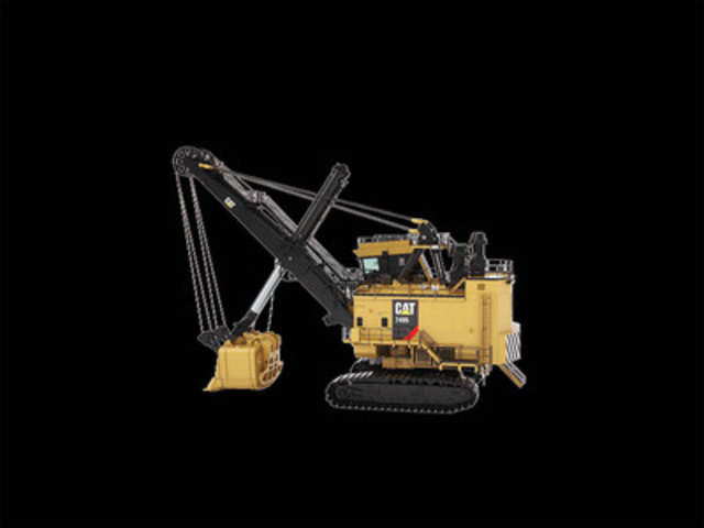 7495 Electric Rope Shovel (CNW Group/Hewitt Equipment Limited)